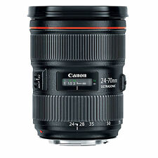 Canon EF 24-70mm f/2.8L II USM w/FREE Hoya NXT UV Filter *NEW*
