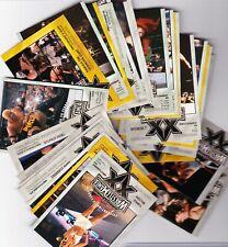 Fleer Wrestlemania XX 2004 WWE Cards (individual sets)