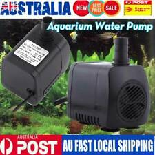 800LPH Aquarium Pump Water Submersible Fish Tank Fountain Pond Marine AU