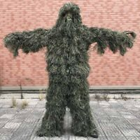 CS Camouflage Ghillie Suit Yowie Sniper Tactical Camo Hunting Paintball Jacket