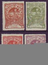 Briefmarken aus Rumänien mit Falz