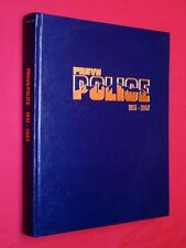 Provo City Police Dept Remembered 1851 - 2007 Utah History Hardcover Ltd Edition