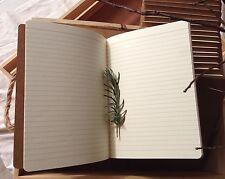 7 x  A5 Kraft Vintage Journal Memo Notebook Paper Notepads - Blank Diary - DIY
