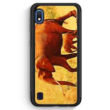 Elefant Familie Silikon Hülle für Samsung Galaxy A10 Motiv Design Tiere Schön...