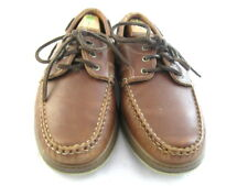 "Allen Edmonds ""EASTPORT"" Boat Shoes 10.5 D Brown  (143)"