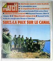 Paris Match N° 1292 - 09 Février 1974 -Canal de suez, Vins de Bordeaux, LIP