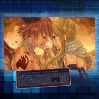 Anime Fairy Tail Natsu Mouse Pad Play mat GAME Mousepad Cosplay Otaku40*70cm#A25