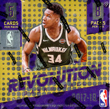 2017-18 PANINI REVOLUTION BASKETBALL HOBBY SEALED BOX