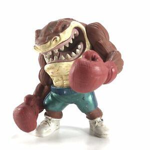 Street Sharks Slugger Slammu Boxing Action Figure Vintage 1995