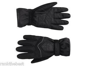 Harley Davidson Men's Iron Nylon Bound Skull Full Finger Gloves 97331-11VM XL