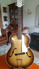 More details for rare vintage zenith archtop jazz guitar 1949