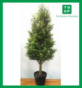 Artificial Fake Plant Mini Murraya Tree Pot Indoor Outdoor Garden Home Decor