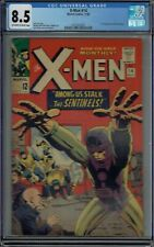 CGC 8.5 X-MEN #14 1ST APPEARANCE OF THE SENTINELS OW/W PAGES 1965 JACK KIRBY
