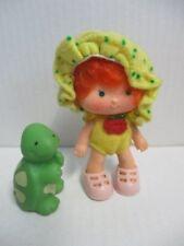 Emily Erdbeer Puppe Strawberry Shortcake Ada Äpfelchen + Tier KENNER 80er Jahre