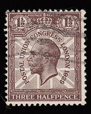 "SG436var 1 1/2d. ""1829 for 1929"" variety. Good used example."