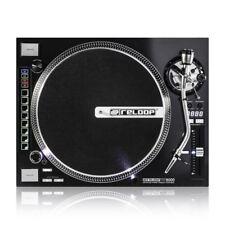 2x Reloop Rp8000 Vinyl Deck DJ Turntable High Torque Rp-8000 W/midi Control Pair