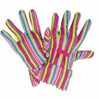 Briers Bold Stripe Gardening Gloves - Medium - Multicoloured #3C75