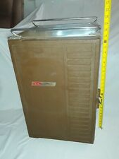 VINTAGE Coleman Convertible Standing Ice Cooler Refrigerator Ice Box w/ shelves.