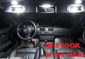 14x BMW 3 Series - E90 White LED Interior lighting package 328i 330i 335i M3