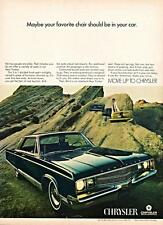 Old Print.  1968 Chrysler New Yorker Auto Ad