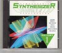 (HK745) Atmospheric Synthesizer Spectacular Vol 1, 17 tracks - CD