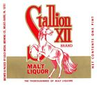 Stallion XII Brand Malt Liquor Gold Medal Beer Brewing Wilkes-Barre PA