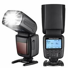 Powerextra Flash Speedlite with LCD Display, GN38 Off-Camera Zoom Flash for