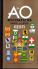 ESTONIA ESTONIAN COAT OF ARMS AND FLAGS BOOK 2004 COUNTIES CITIES MUNICIPALITIES