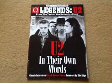 U2 FROM THE VAULTS DEFINITIVE STORY Q MAGAZINE IN THEIR OWN WORDS - RARE SPECIAL