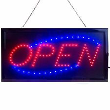 Led Open Sign for Business Displays: Light Up Sign Open with 2 Flashing Modes  