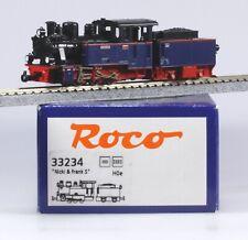 "Roco HOe #33234 Austrian Steam Loco & Tender 0-6-0,   ""Nicki + Frank S"" LN/BX"