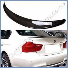 Carbon Fiber 06-11 BMW E90 3 Series P Type Trunk Spoiler Boot 328i 335i M3 Sedan