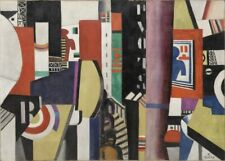 The City, 1919, FERNAND LEGER, Cubism, Modernism Art Poster