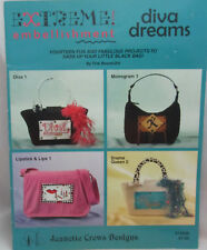 Jeanette Crews Extreme Embellishment Diva Dreams Projects To Sass up Bag Purse