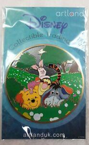 Disney Artland Limited Edition 200 Pin Winnie The Pooh & Friends Tigger Eeyore