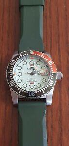 Mondia Wave Diver Watch Full Lume ETA 2824 -2 automatic. 500 mt
