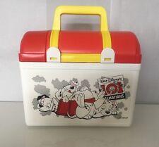 "Walt Disney 101 Dalmatians Lunchbox with thermos New By Silkjet 7"" X 3"""