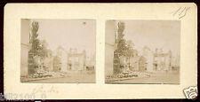 photo stéréoscopique . Senlis . Oise . Guerre 1914-1918