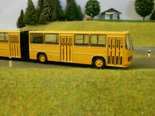 Brekina 59706 Ikarus 280 Gelenkbus maisgelb filigran Modell HO Neu,