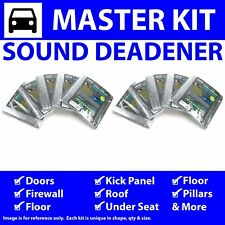 Heat & Sound Deadener Early Cars 1941 - 1948 Master Kit 54132Cm2 zirgo rat