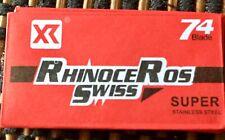 Rhinoceros Razor Blades. Swiss Steel Pack Of 5