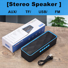 Subwoofer Wireless Bluetooth Mini Speaker Portable Outdoor Stereo USB/TF/AUX USA
