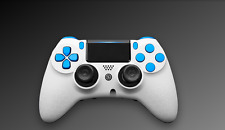 Scuf Impact Gaming ps4 Controller pad Edition White Blue Scuf red blanco