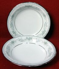 NORITAKE china COLBURN 6107 pattern Two (2) Fruit Dessert Berry Bowls - 5-1/2""