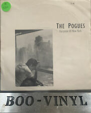 "The Pogues Ft Kirsty MacColl: Fairytale of New York - 1987 vinyl 7"" EX / VG+"