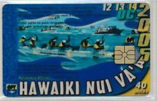 TELECARTE POLYNESIE PF154 HAWAIKI