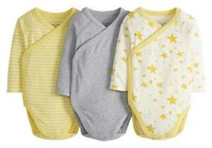 Moon and Back by Hanna Andersson Baby Boys' and Girls' 3, Light Yellow, Size