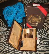 Bobbi Brown Mini 4 pc Brush Set Scotch On The Rocks Holiday Authentic Nib Rare