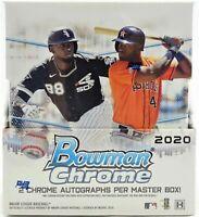 2020 Topps Bowman Chrome Baseball Hobby Box! Factory Sealed!