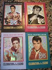 4 Globe Special Collector's Edition Digest Mini Magazines Elvis Presley FreeShip